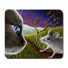 Mousepad Mat pad from art painting Cat 533 Mouse