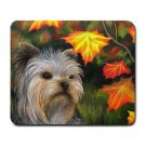 Mousepad Mat pad from art painting Dog 78 Yorkshire Fall Autumn