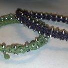 Silver Beaded Knot Bracelet
