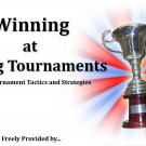 Winning at Fishing Tournaments