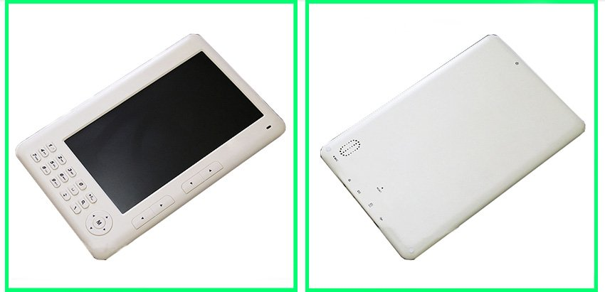 NEW!!-  7 inch eReader with epaper technology and plays Music too!