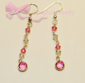 Pink for Cure Earrings