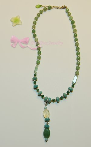 Cucumber in the Sun Necklace
