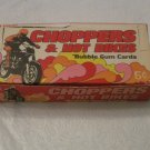 1972 Donruss CHOPPERS & HOT BIKES Gum Cards Wax Box