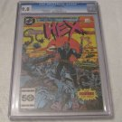 1985 DC HEX # 1 CGC 9.8 White pages Highest graded copy