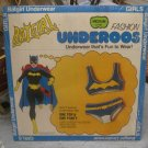 1970's BATGIRL Underoos Sealed