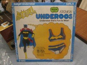 1970's BATGIRL Underoos Sealed