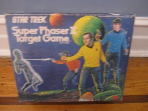 Star Trek Mego Super Phaser Target Game Display Box