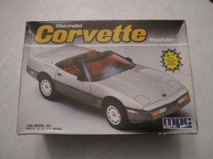 MPC 1986 Corvette model kit 1/25 scale