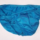 K318 HOT MEN SEXY SWIMWEAR FABRIC BIKINI SHINY Turquoise