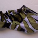 K320A HOT SEXY MEN CONTOURED POUCH Sleeve w/ Open Camo Green