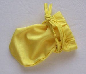 K320 Wrap Male Package HOT POUCH GLOVE Penis Warmer Yellow