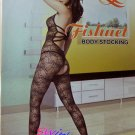 W3038 SEXY WOMEN SPIDER WEB FISHNET BODY STOCKING Black