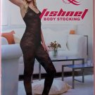 W3030 SEXY WOMEN FISHNET LACE BODY STOCKING Black