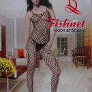 W3023 SEXY WOMEN FISHNET BODY STOCKING Black