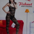 W3035 SEXY WOMEN FISHNET LACE BODY STOCKING Black