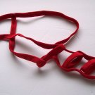 K342A HOT MEN DARING String Pouch Cage Strap Show Balls red