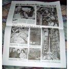 JOHN GLENN ORBITS EARTH Newspaper Reprint 2/2/62 NM
