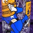 McDonald's Captain Big Mac 1977 Glass