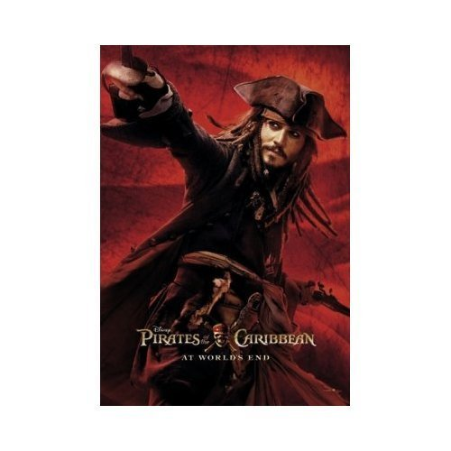 Pirates Of The Caribbean 3 - Official Movie Poster New