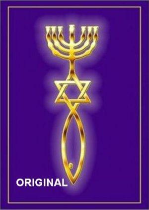 Messianic Judaism Cross Stitch Pattern Christian ETP