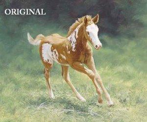 Little Foal Cross Stitch Pattern Horses ETP