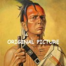 Cherokee Brave Cross Stitch Pattern Native American ETP