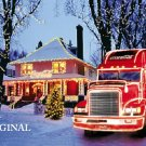 Coca Cola Christmas Truck Cross Stitch Pattern ETP