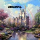 Cinderella's Castle Cross Stitch Pattern Disney Fantasy ETP