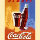 Always Coca Cola 1 Cross Stitch Pattern Advertisements ETP