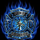 FireFighter Flame 9~11 Cross Stitch Pattern PatrioticAmerica ETP