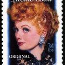 Lucille Ball Stamp Cross Stitch Pattern ETP