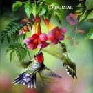 Summer Hummingbird Cross Stitch Pattern Birds ETP