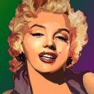 Marilyn Monroe #3 Cross Stitch Pattern Blond Bombshell JFK ETP