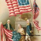 Betsy Ross With Flag 2 Cross Stitch Pattern Patriotic ETP