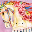 Carousel Horse 2 Cross Stitch Pattern Carnival Ride ETP
