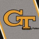 Georgia Tech 1 Cross Stitch Pattern Football ETP