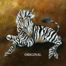 Baby Zebra Cross Stitch Pattern Africa Horses ETP