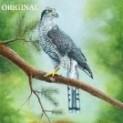 Goshawk Cross Stitch Pattern Birds ETP