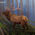 Stag Cross Stitch Pattern Deer Elk ETP