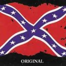 Rebel Flag Cross Stitch Pattern Symbol of States Rights ETP