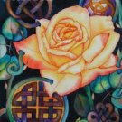 Celtic Rose 2 Cross Stitch Pattern Gaelic Irish Scottish ETP