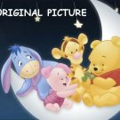 Winnie The Pooh~In~The~Moon Cross Stitch Pattern ETP