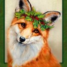 Christmas Fox Cross Stitch Pattern Dogs ETP