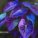 Nighttime Philodendrons Cross Stitch Pattern Plants ETP