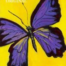 Purple Butterfly Cross Stitch Pattern Sunflower ETP