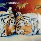 Tiger Dreams Cross Stitch Pattern Cats ETP
