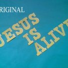 Jesus is Alive Cross Stitch Pattern Bible Christian ETP