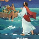 Jesus & Peter Walk on Water Cross Stitch Pattern ETP