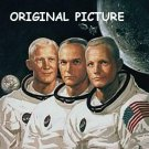 Apollo Astronauts Cross Stitch Pattern NASA ETP